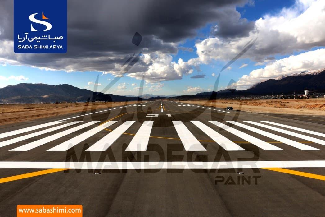 اجرای رنگ ترافیكی فرودگاهی 2