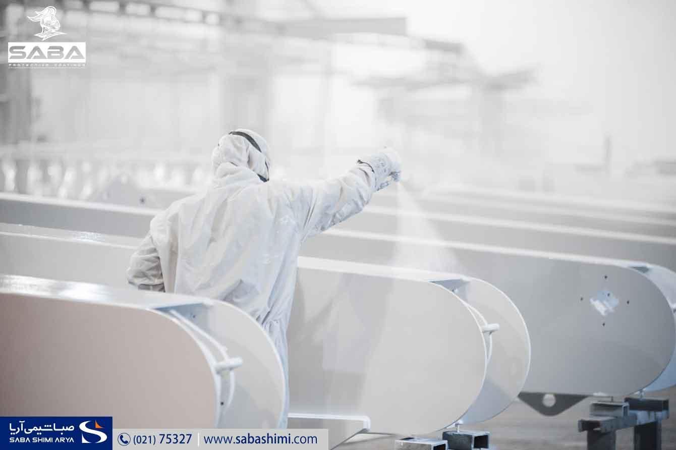 رنگ رویه اپوكسی رنگ های صنعتی ایران