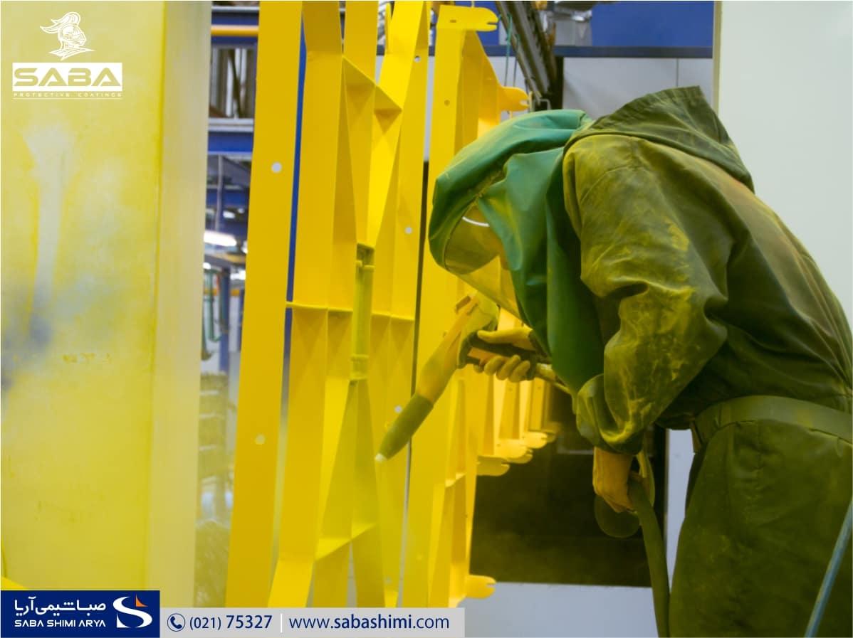 مشخصات فنی رنگهای صنعتی و ضد خوردگی